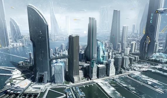 Star Citizen ukazuje procedurálne vytvárané mestá