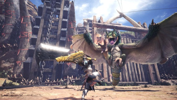 Monster Hunter World sa predvádza na videách a obrázkoch, ukazujú City Hub a príšery