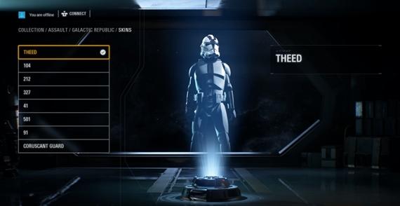 Hráč odhalil skrytú možnosť úpravy postavy v Star Wars Battlefront 2
