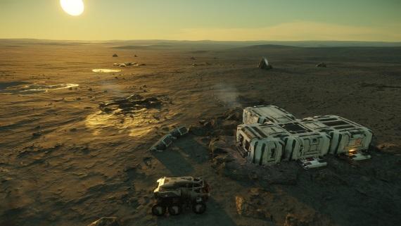Star Citizen predstavuje možnosti kolonizácie planét, pozemky na planétach si môžete kúpiť