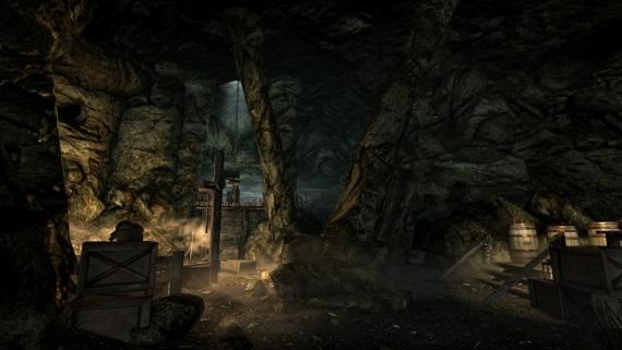 Zábery zo Skyrim: Lordbound modu