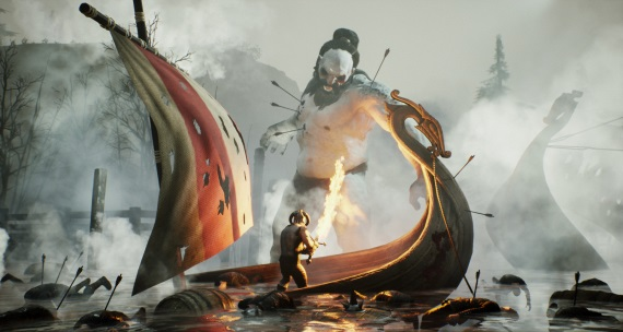 Vikingský Rune: Ragnarok dostáva prvé zábery približujúce hrateľnosť