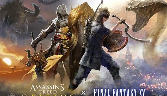 DLC crossover Assassin's Creed Origins a Final Fantasy XV je už dostupný