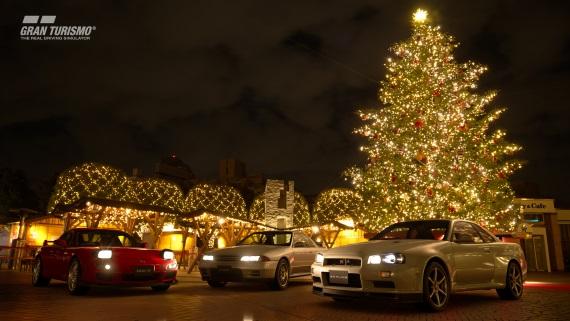 Gran Turismo Sport dostalo Vianočnú aktualizáciu, pridáva sľubovanú kampaň, nové autá a trate