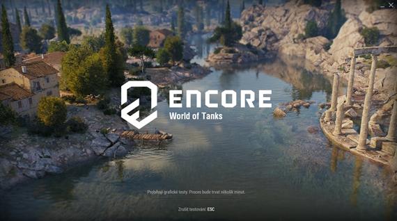 Otestujte si výkon vášho PC na novom World of Tanks enCore engine