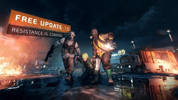 The Division dostal update 1.8, tento víkend bude hra zadarmo, DLC je zadarmo na týždeň