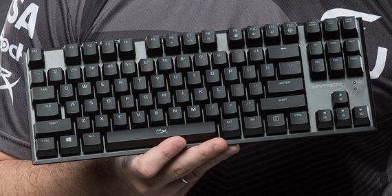 HyperX predstavil dve nové mechanické klávesnice