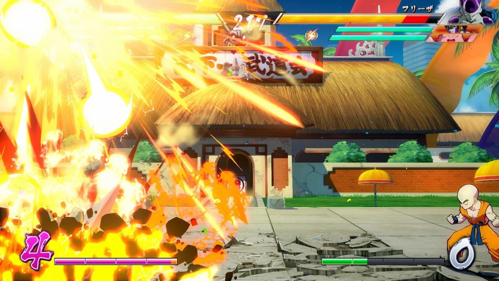 453220627efa2 ... Dragon Ball FighterZ ponúka detaily k postavám Piccola, Krillina a  online bojom