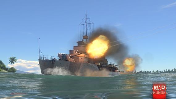 Gaijin Entertainment rozširuje flotilu námorných síl vo War Thunder