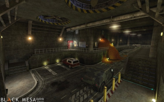 Black Mesa: Uplink Redux ponúkol sériu obrázkov