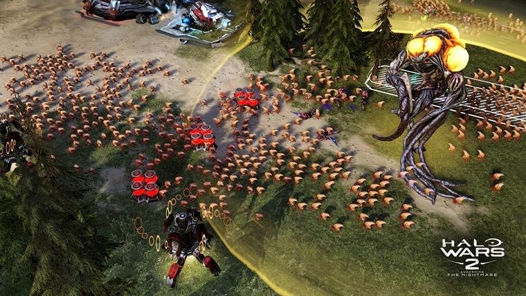 Gamescom 2017: Expanzia pre Halo Wars 2 prebudí nočnú moru