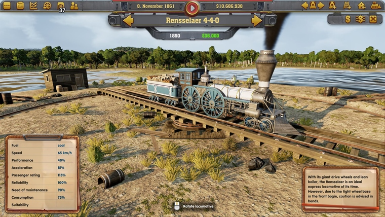 Gamescom 2017: Railway Empire sa chce zapísať do sŕdc všetkým milovníkom vlakov