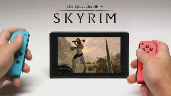 Nové ukážky Skyrimu na Switchi v handheldovom aj dokovanom režime