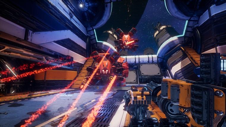 Gamescom 2017: Mothergunship láka na sci-fi akciu vo vesmírnej lodi