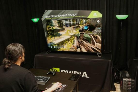 Nvidia mala na CES veľmi pozitívne reakcie na svoje BFGD monitory