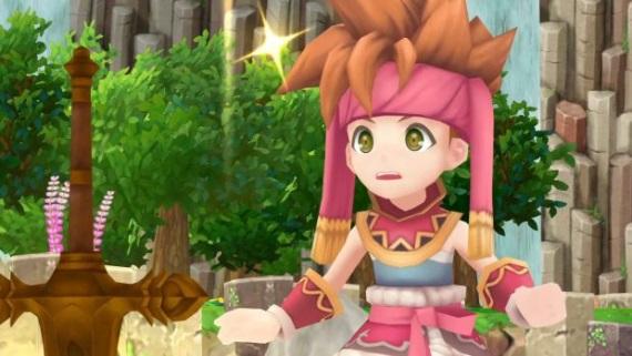 Ukážka z PS4 verzie moderného 3D remaku JRPG Secret of Mana