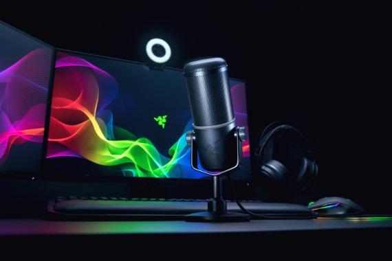 Razer predstavil mikrofón Seirne Elite