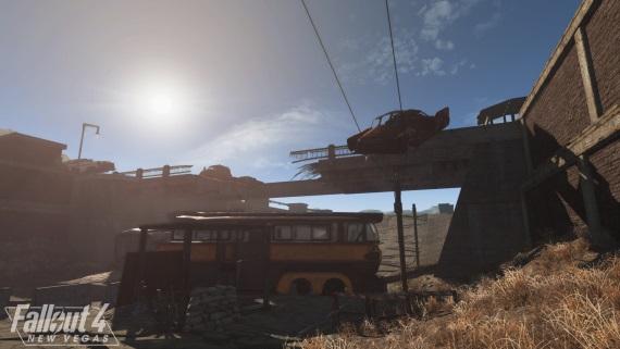 Fallout 4: New Vegas mod ukazuje svoj svet