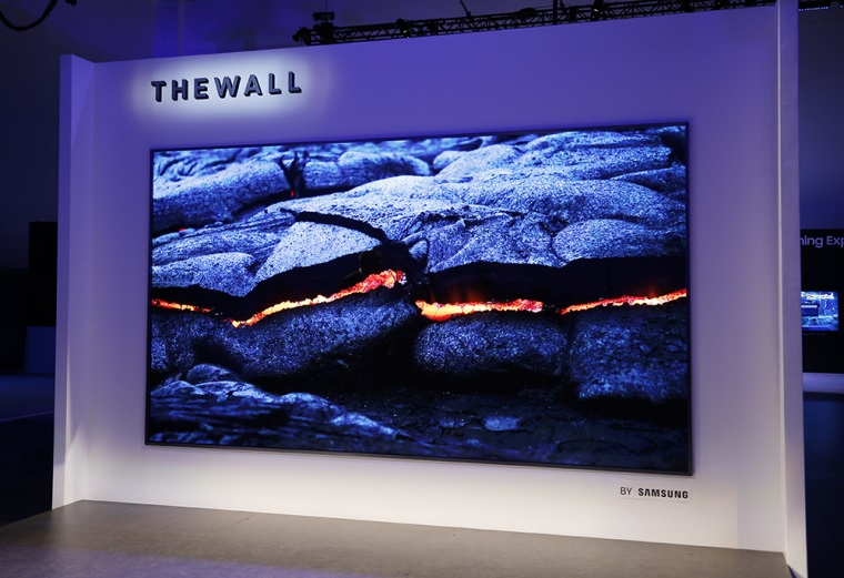 Samsung predstavil The Wall, 146 palcový TV