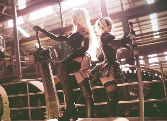 Parádny Nier: Automata cosplay