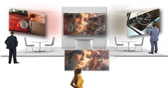MultiView Screen umožní sledovať dvom ľuďom rôzny obraz na jednom plátne