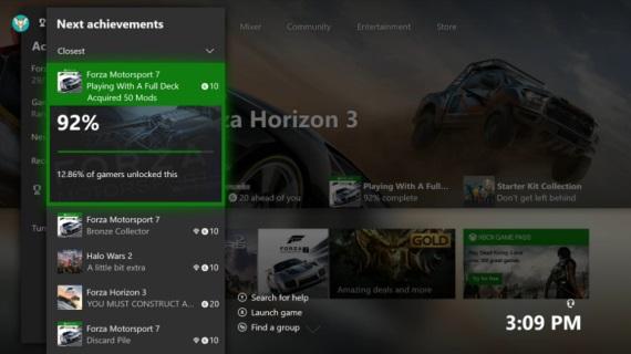Xbox One preview používatelia dnes dostávajú prvý update v novom roku