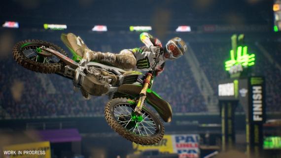 Zablatené motorky prichádzajú v Monster Energy Supercross