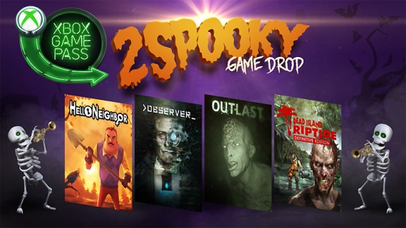 Xbox Game Pass dostal bonusové tituly na Halloween