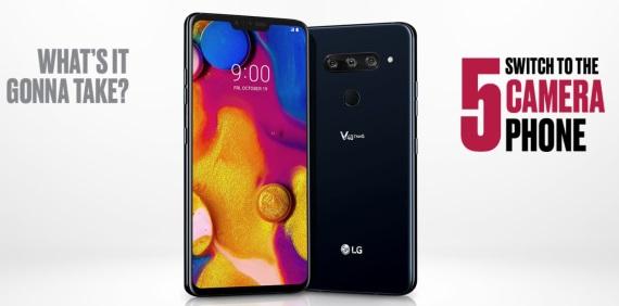 LG V40 ThinQ predstavený, ponúkne tri zadné kamery a výrez
