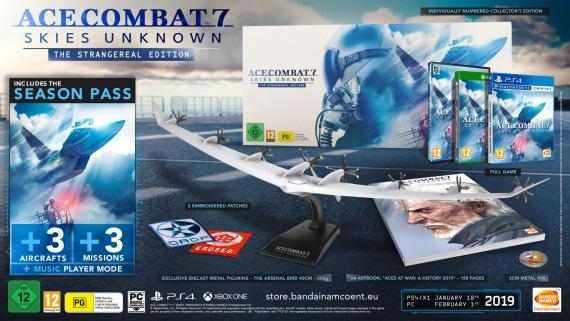 Ace Combat 7 ukazuje peknú zberateľskú edíciu pre Európu