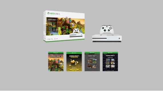 Minecraft Creator Bundle bude nové balenie Xbox One S konzoly s Minecraftom