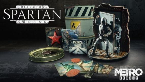 Čo obsahuje Metro Exodus Spartan edícia?