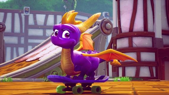 Spyro Reignited Trilogy si vedie v recenziách veľmi dobre