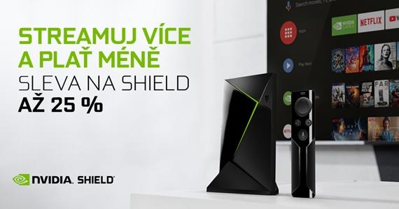 Nvidia Shield TV konzola dostáva zľavy na čierny piatok