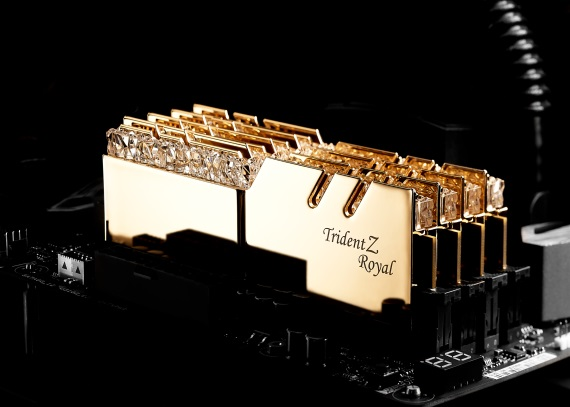 G.skill predstavil prémiové TridentZ Royal series pamäte