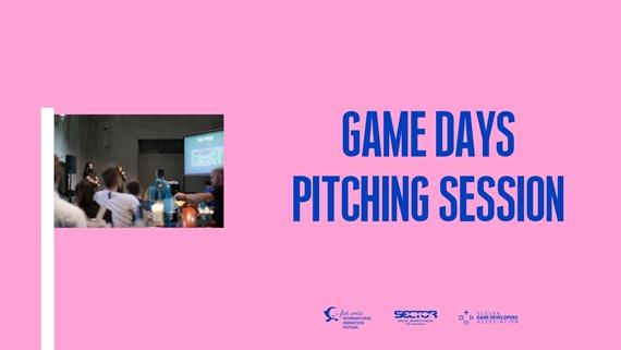 Pitching Session na poslednom ročníku Game Days dala priestor ďalším zaujímavým projektom