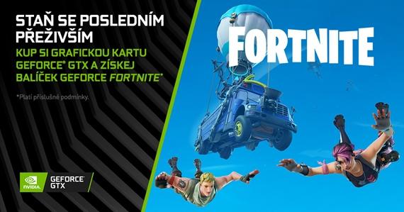Nvidia spúšťa bundle kariet s Fortnite bonusmi