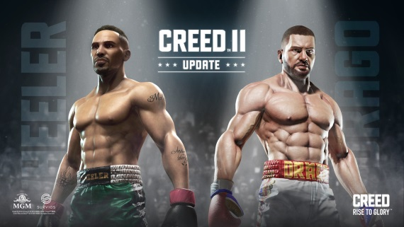 Creed VR hra dostala Creed II update
