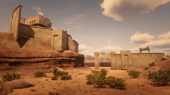 Vďaka chybe môžete v Red Dead Redemption 2 preskúmať aj Mexiko
