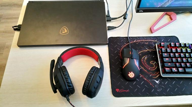 Aké je to používať notebook ako desktop? Vyskúšali sme to na MSI GS65 Stealth Thin