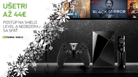 Nvidia ponúka Shield TV konzolu v akcii