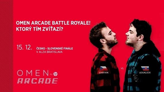 PUBG turnaj OMEN Arcade Battle Royale usporiadaný HP a Alzou bude mať v sobotu finále