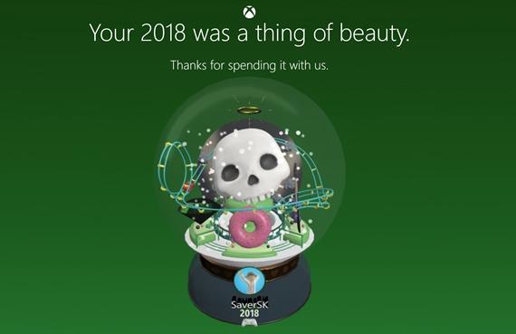 Microsoft vám zhrnie rok 2018 na Xboxe a popritom vygeneruje snežnú guľu