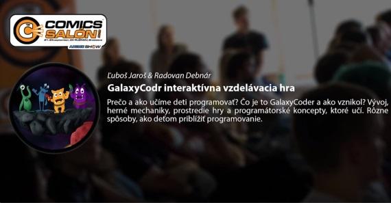 Prednáška: GalaxyCodr - interaktívna vzdelávacia hra