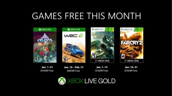 Games with Gold tituly na január vedie parádny indie titul Celeste
