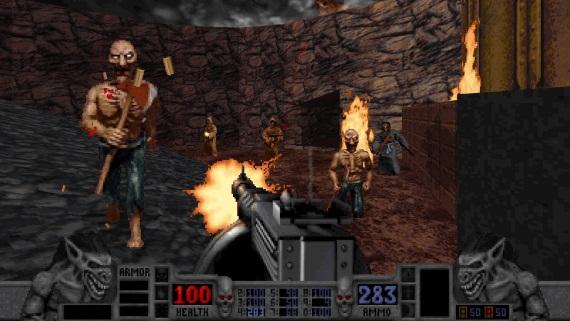 Retro hororová strieľačka Blood sa vracia v remastrovanej verzii