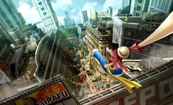 One Piece World Seeker láka na nové obrázky, ktoré ukazujú postavy a prostredia