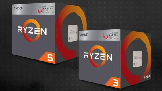 Ryzen 3 2200G a Ryzen 5 2400G procesory s VEGA grafikami dostali testy