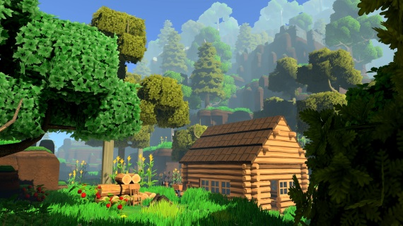 Eco je zaujímavá manažmentová simulácia v Minecraft štýle