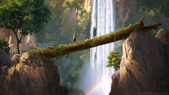 Z tajuplného lesa Forest of Liars možno nikdy nenájdete cestu von